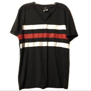 INC International Concepts striped top NWT large
